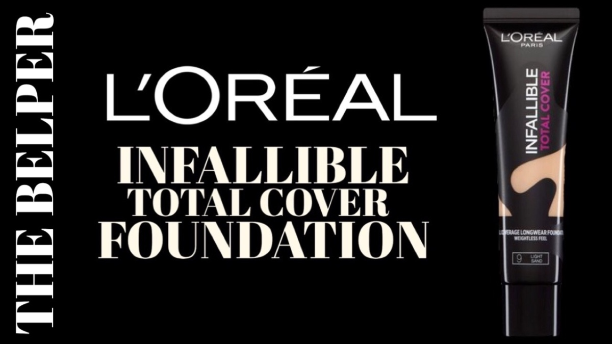 REVIEW: L'ORÉAL INFALLIBLE TOTAL COVER FOUNDATION